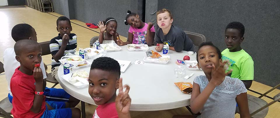 Our Summer Food Program has served over 100,000 meals to Westbrook youth